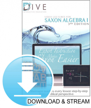 DIVE Download & Stream Saxon Algebra 1 3rd Edition