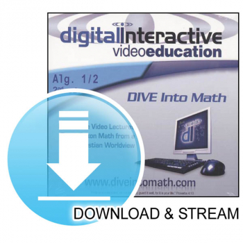 DIVE Download & Stream Saxon Algebra 1/2 2nd Edition