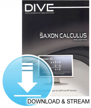 DIVE Download & Stream Saxon Calculus 2nd Edition