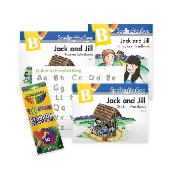 Spelling You See Level B: Jack & Jill Universal Set with Guide