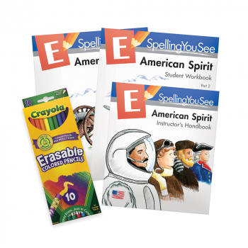 Spelling You See Level E: American Spirit Universal Set