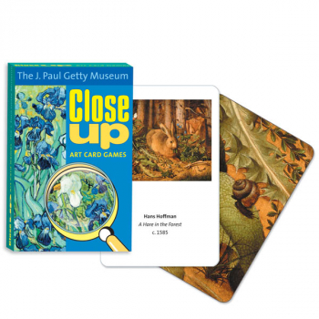J. Paul Getty Museum Close Up Art Card Game