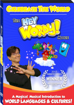 Hey Wordy! Movie DVD