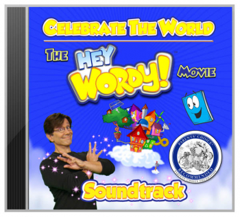 Hey Wordy! Movie Soundtrack CD