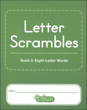 Letter Scrambles 2 Journal