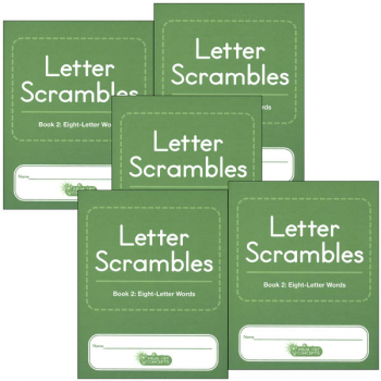 Letter Scrambles 2 Journal set of 5