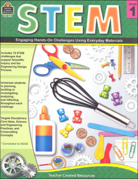 STEM: Engaging Hands-On Challenges Using Everyday Materials - Grade 1