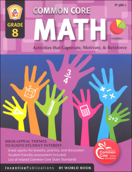 Common Core Math Activities Grade 8