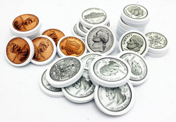 US Coins Foam Manipulatives