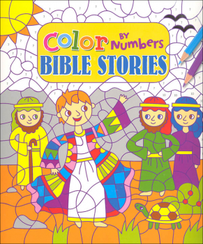 Color by Numbers: Bible Stories