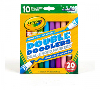 Crayola Double Doodlers Dual-Ended Markers (set of 10)