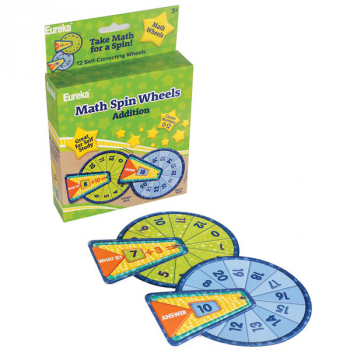 Math Spin Wheels - Addition