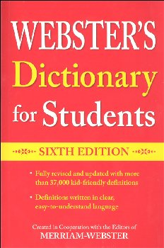 Webster's Dictionary for Students (Sixth Edition)