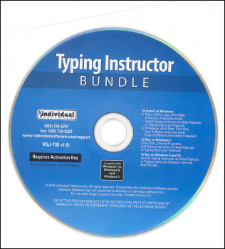 Typing Instructor Platinum & Typing Instructor for Kids Platinum Bundle (Windows)