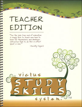 Victus Study Skills System, Level 3 Teacher Edition