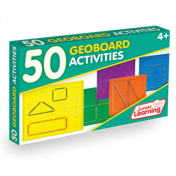 50 Geoboard Activity Cards