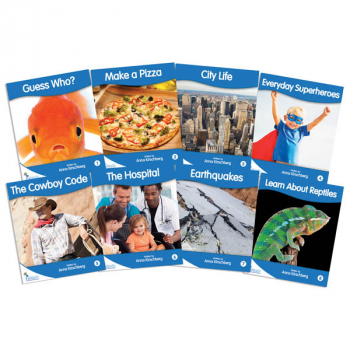 Fantail Readers: Non-Fiction - Blue (set of 8) Reading Level 9-11, Guided Reading Level D-H