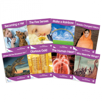 Fantail Readers: Non-Fiction - Purple (set of 8) Reading Level 19-20, Guided Reading Level K-M