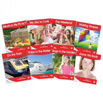 Fantail Readers: Non-Fiction - Red (set of 8) Reading Level 3-6, Guided Reading Level B-D