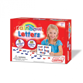 Rainbow Magnetic Letters