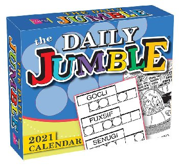 Daily Jumble 2021 Boxed Daily Calendar