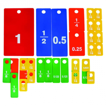 Fraction / Decimal Tile Set (31 piece)