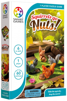 Squirrels Go Nuts Puzzle Game