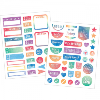 Planner Stickers - Watercolor