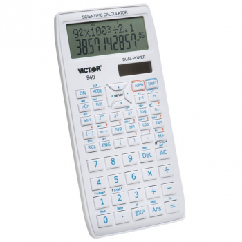 Victor 940 Scientific Calculator with 2 Line Display