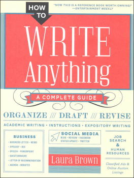 How to Write Anything - A Complete Guide