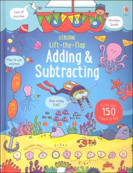 Lift-the-Flap: Adding and Subtracting (Usborne)