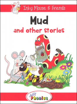 Jolly Phonics Decodable Readers Level 1 Inky Mouse & Friends - Mud and other stories