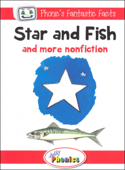 Jolly Phonics Decodable Readers Level 1 Phonic's Fantastic Facts - Star and Fish and more nonfiction