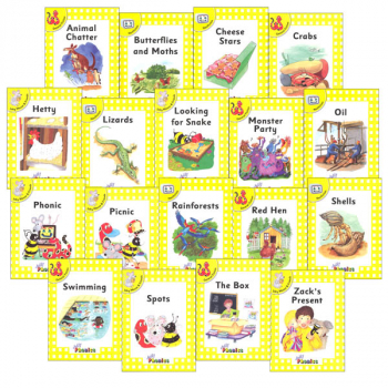 Jolly Phonics Decodable Readers Level 2 Complete Set (18 Titles)