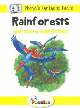 Jolly Phonics Decodable Readers Level 2 Phonic's Fantastic Facts - Rainforests and more nonfiction