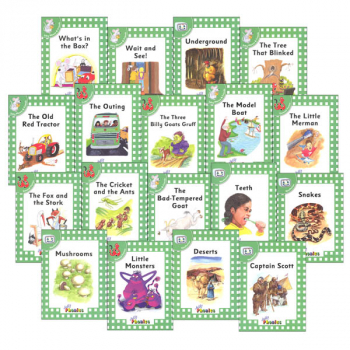 Jolly Phonics Decodable Readers Level 3 Complete Set (18 Titles)