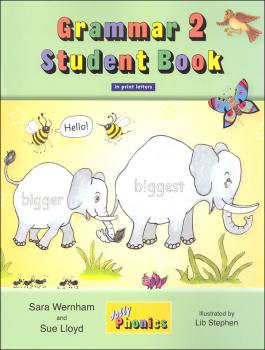 Jolly Phonics Grammar 2 Student Book (Print Letters)