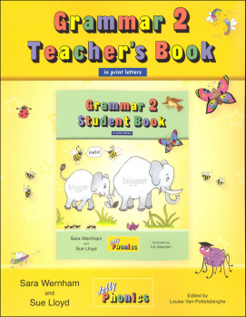 Jolly Phonics Grammar 2 Teacher's Book (Print Letters)