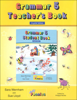 Jolly Phonics Grammar 5 Teacher's Book (Print Letters)