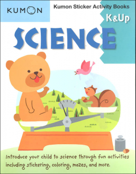 Science Kumon Sticker Activity Book