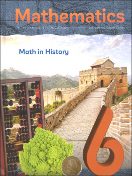 Mathematics Grade 6 Textbook: Math in History