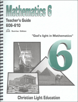 Mathematics Teacher's Guide 606-610 Sunrise Edition