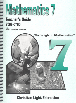 Mathematics Teacher's Guide 706-710 with answers Sunrise Edition