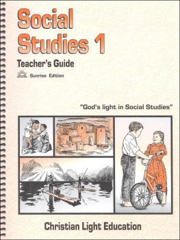 Social Studies 100 Teacher's Guide Sunrise Edition (with answers)