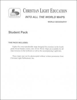 Social Studies 400 Into All the World Student Maps