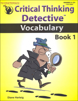 Critical Thinking Detective - Vocabulary Book 1