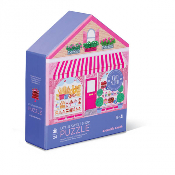 Little Sweet Shop Two-Sided House Puzzle (24 pieces)
