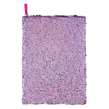 Purple Holographic / Seafoam Magic Sequin Journal