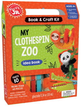 My Clothespin Zoo Kit