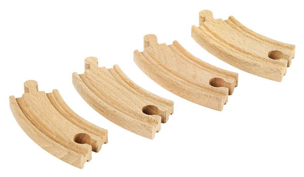 BRIO Short Curved Tracks